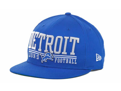Detroit Lions NFL Lateral 9FIFTY Snapback Hats