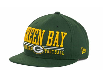 Green Bay Packers NFL Lateral 9FIFTY Snapback Hats