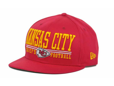 Kansas City Chiefs NFL Lateral 9FIFTY Snapback Hats