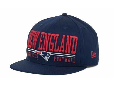 New England Patriots NFL Lateral 9FIFTY Snapback Hats