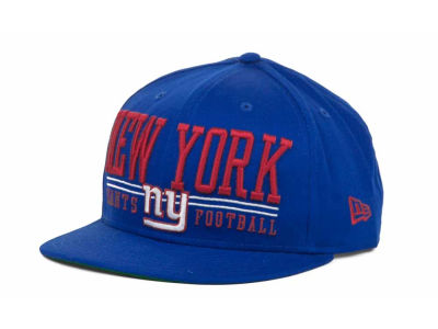 New York Giants NFL Lateral 9FIFTY Snapback Hats