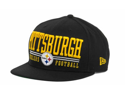 Pittsburgh Steelers NFL Lateral 9FIFTY Snapback Hats