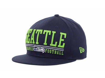Seattle Seahawks NFL Lateral 9FIFTY Snapback Hats