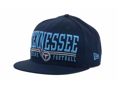 Tennessee Titans New Era NFL Lateral 9FIFTY Snapback Hats