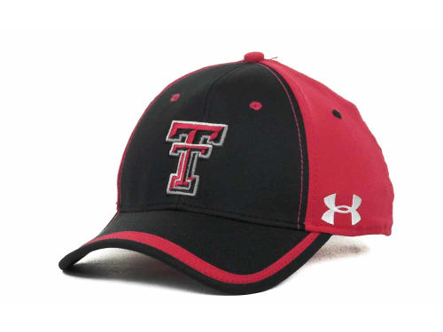 Texas Tech Red Raiders Under Armour NCAA UA Sideline Adjustable Cap 2012 Hats