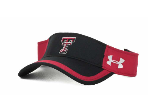 Texas Tech Red Raiders Under Armour UA Sideline Visor 2012 Hats