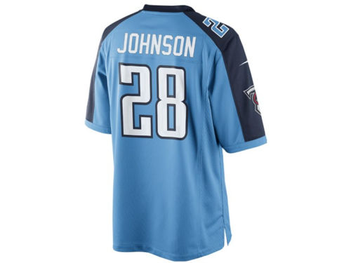Tennessee Titans Chris Johnson Nike NFL Limited Jersey