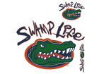 Florida Gators Magnet Multipack 8x8 Auto Accessories