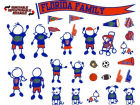 Florida Gators Family Decal 28pk Auto Accessories