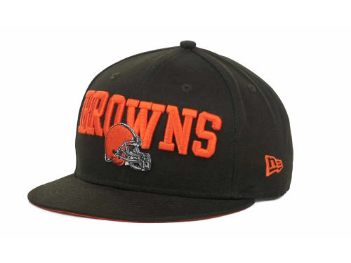 Cleveland Browns New Era NFL Endzone 9FIFTY Snapback Hats