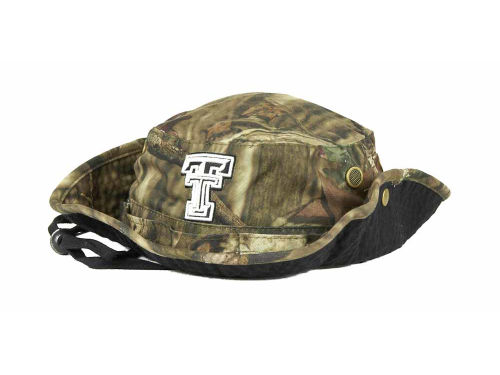 Texas Tech Red Raiders Top of the World NCAA Camo Boonie Hat Hats