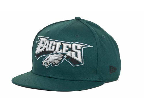 Philadelphia Eagles New Era NFL Endzone 9FIFTY Snapback Hats