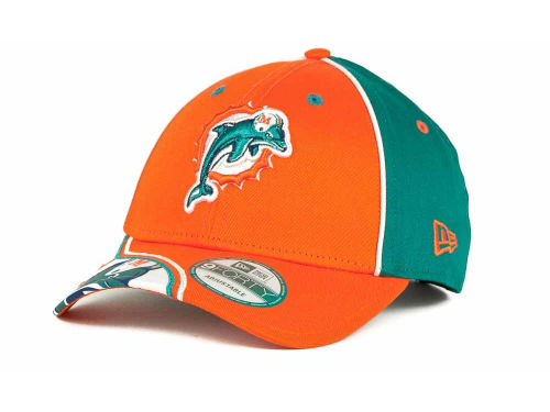 Miami Dolphins New Era NFL Power Sweep 9FORTY Hats