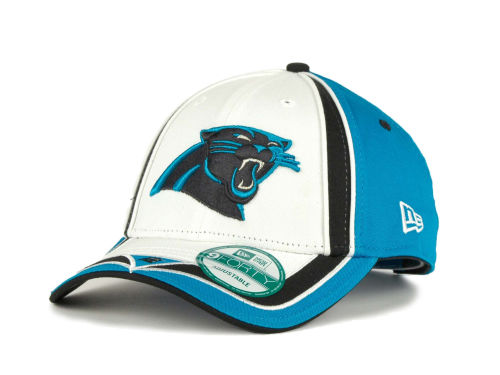Carolina Panthers New Era NFL Double Coverage 9Forty Cap Hats