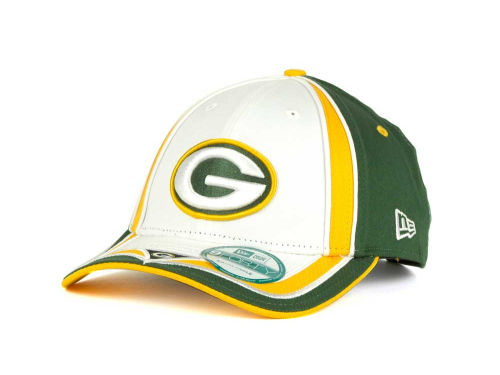 Green Bay Packers New Era NFL Double Coverage 9Forty Cap Hats