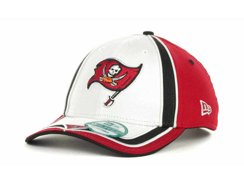 Tampa Bay Buccaneers New Era NFL Double Coverage 9Forty Cap Hats
