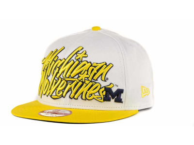 Michigan Wolverines NCAA Foundation 9FIFTY Snapback Hats