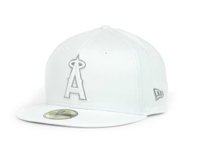 Los Angeles Angels of Anaheim MLB White Go 59FIFTY Hats