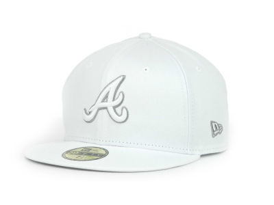 Atlanta Braves MLB White Go 59FIFTY Hats
