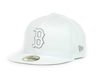 Boston Red Sox MLB White Go 59FIFTY Hats
