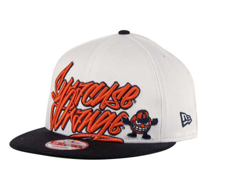 Syracuse Orange New Era NCAA Foundation 9FIFTY Snapback Hats