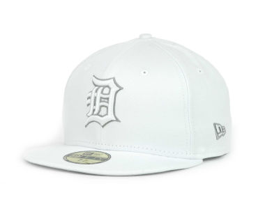 Detroit Tigers MLB White Go 59FIFTY Hats
