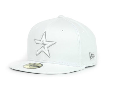 Houston Astros MLB White Go 59FIFTY Hats