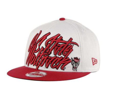 North Carolina State Wolfpack New Era NCAA Foundation 9FIFTY Snapback Hats