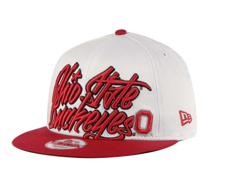 Ohio State Buckeyes New Era NCAA Foundation 9FIFTY Snapback Hats