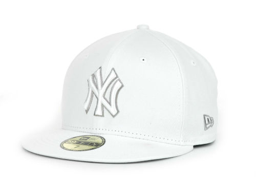 New York Yankees New Era MLB White Go 59FIFTY Hats