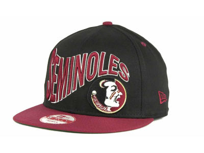 Florida State Seminoles NCAA Wave Black 9FIFTY Snapback Hats