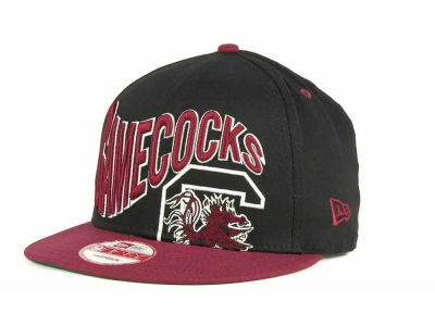 South Carolina Gamecocks NCAA Wave Black 9FIFTY Snapback Hats