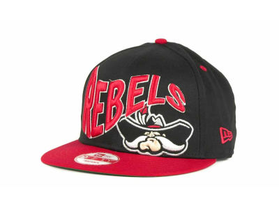 UNLV Runnin Rebels NCAA Wave Black 9FIFTY Snapback Hats