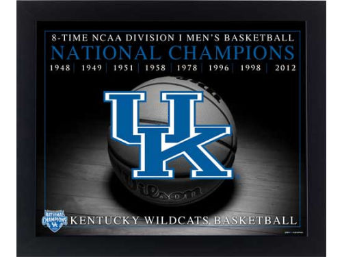 Kentucky Wildcats 2012 NCAA National Champ 16x20 Framed