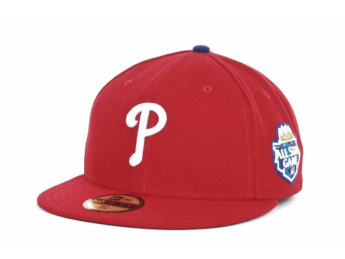Philadelphia Phillies New Era 2012 All Star Patch 59FIFTY Hats