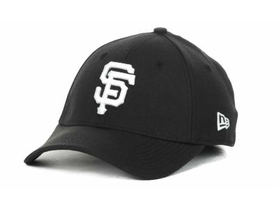 San Francisco Giants MLB Black and White Ace 39THIRTY Hats