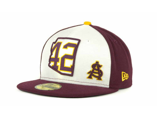 Arizona State Sun Devils New Era Pat Tillman 42 State 59FIFTY Cap Hats