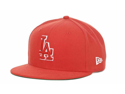 Los Angeles Dodgers MLB Outline 9FIFTY Snapback Hats