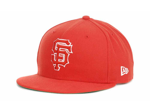 San Francisco Giants New Era MLB Outline 9FIFTY Snapback Hats