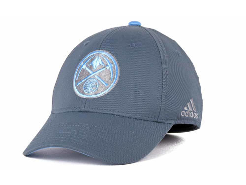 Denver Nuggets adidas NBA Gray Swat Cap Hats