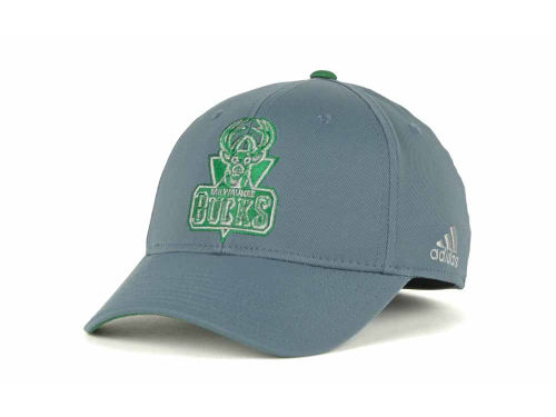 Milwaukee Bucks adidas NBA Gray Swat Cap Hats