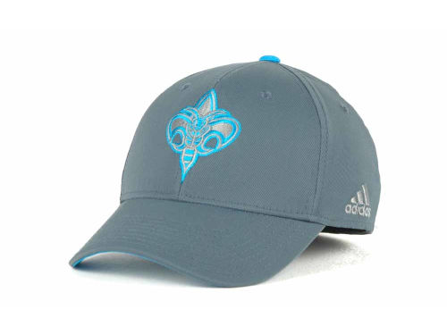 New Orleans Hornets adidas NBA Gray Swat Cap Hats