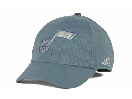 Utah Jazz adidas NBA Gray Swat Cap Hats