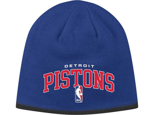 Detroit Pistons adidas NBA Authentic Knit 2012 Hats