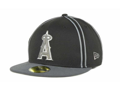 Los Angeles Angels of Anaheim MLB Retro Piping 59FIFTY Hats