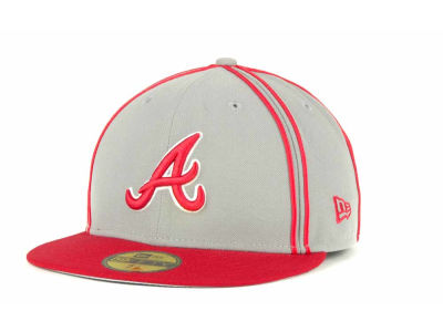 Atlanta Braves MLB Retro Piping 59FIFTY Hats