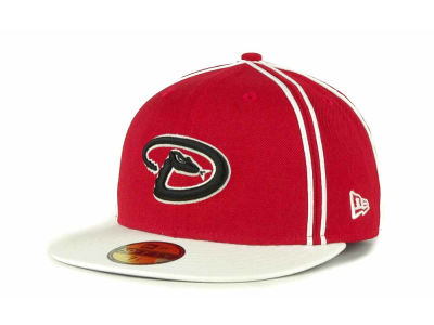 Arizona Diamondbacks MLB Retro Piping 59FIFTY Hats