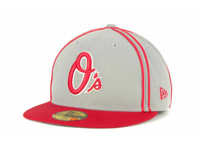 Baltimore Orioles MLB Retro Piping 59FIFTY Hats