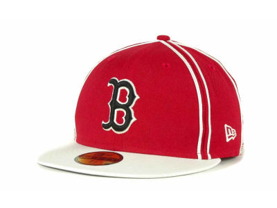 Boston Red Sox MLB Retro Piping 59FIFTY Hats