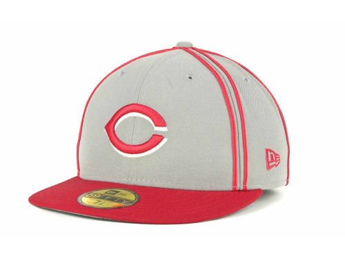 Cincinnati Reds New Era MLB Retro Piping 59FIFTY Hats